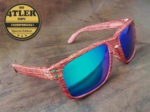 "PUR Holzimitat Sonnenbrille ""Ocean Edition"""