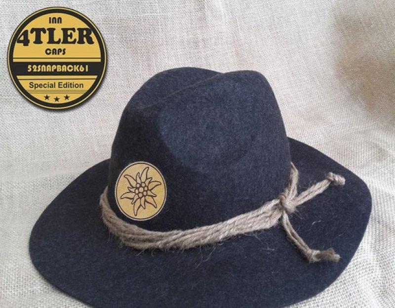 Tiroler Hut mit Edelweiss
