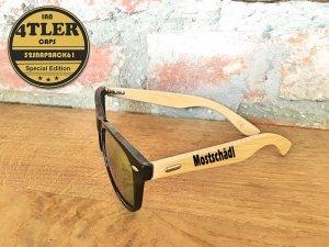 """Holz Sonnenbrille """" Mostschädl """""""