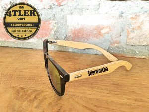 """Holz Sonnenbrille """" Stierwoscha """""""