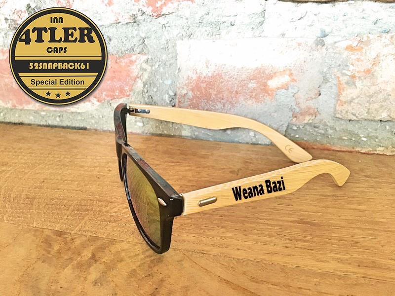"Holz Sonnenbrille "" Weana Bazi """